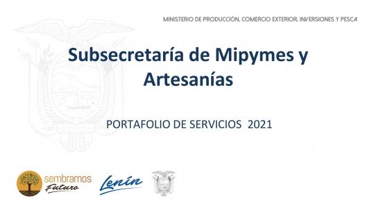 PORTAFOLIO DE SERVICIOS 2021
