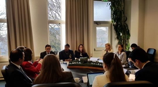 Reunión del Grulac con la Fiscal de la Corte Penal Internacional